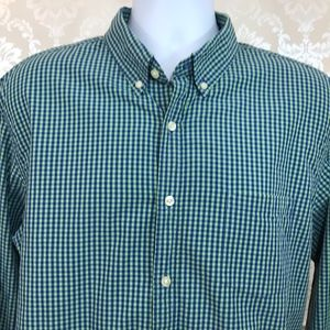 Men's J. Crew Gingham Washed Button Down Shirt